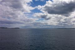 Port Phillip Bay Heads from Queenscliff-Sorrento ferry